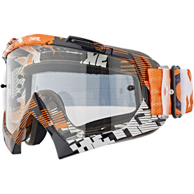 ONeal B-10 Goggle PIXEL orange/white-clear